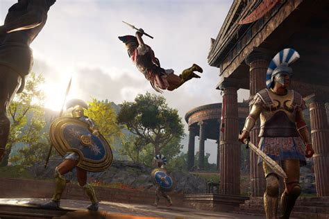 assassins creed odyssey upgrading  improving  weapons  armor guide polygon