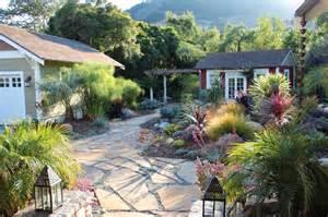 mediterranean garden feature in san luis obispo