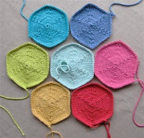 hexagon knitting pattern free 65 best images about knitting hexagon on loom