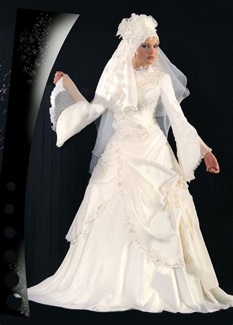 Wedding Dress Muslim by Modern Muslim Wedding Dresses Design With Veil Wedding