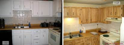 Before After Kitchen Cabinets Painted Kitchen Cabinets Ideas Before And After Home And Art