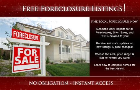 foreclosed houses foreclosure listings