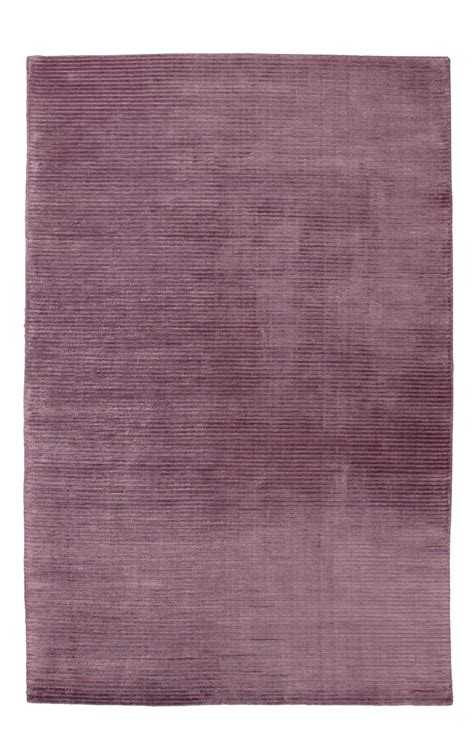Modern Purple Rug Buy Plain Rugs Ribbed Purple Modern Rug Ghadamian