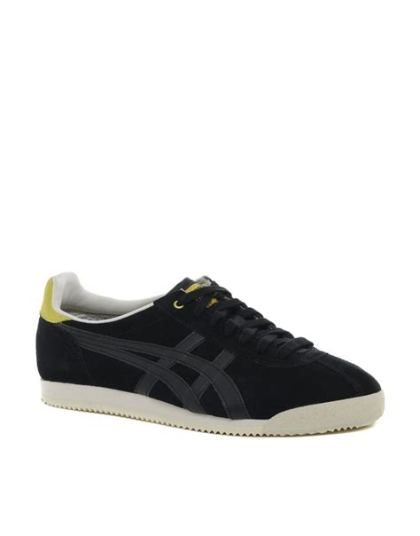 Tiger Corsair Shoes Onitsuka Tiger onitsuka tiger tiger corsair suede sneakers in black for
