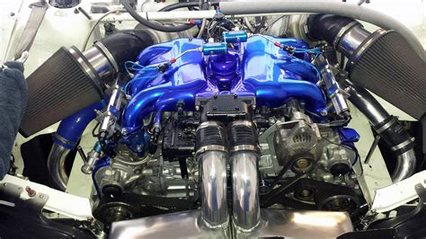 subaru impreza turbo engine afp subaru wrx with a twin turbo flat six engine swap depot