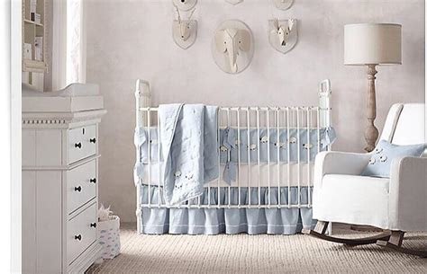 white and blue crib bedding 18 baby nursery ideas themes designs pictures