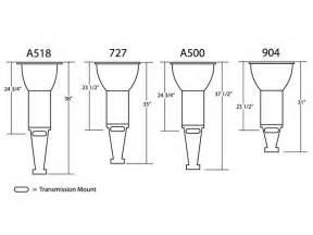 Chrysler Transmission Identification Mopar Rear Block Bell Housing Dimensions Wanted Rod