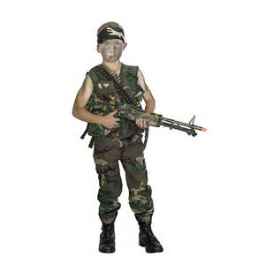 Us Army Party Decorations Kids Army Young Jungle Fighter Rambo Costume Kids Army Com