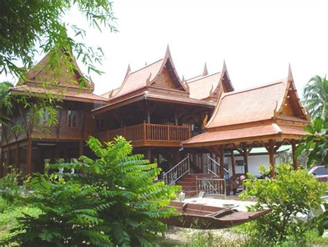 thailand home design traditional thai houses baan song thai