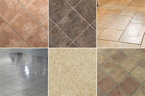 Types Of Tile Flooring by Types Of Floor Tiles Indoor Lighting