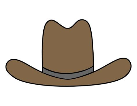 cartoon boat cut out cowboy boot pattern printable cowboy hat clipart cowboy