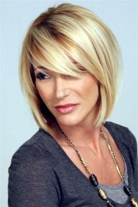 10 most popular bob hairstyles with bangs 15 photo of medium bob hairstyles with side bangs