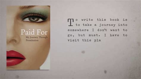 paid for my journey paid for my journey through prostitution by rachel moran youtube