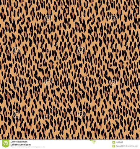 seamless leopard pattern vector seamless leopard pattern animal skin texture stock