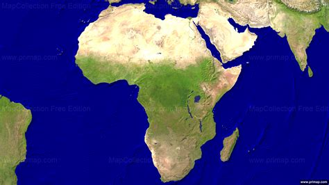 africa map hd image primap continental maps