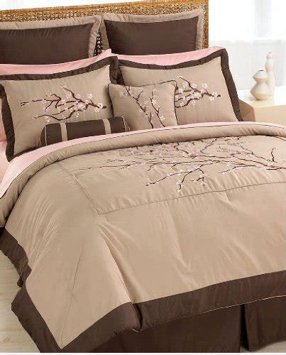 zen bedding zen blossom queen comforter set with 4 bonus pieces by pem