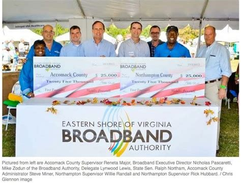 Isp Background Check Esvba Presents Checks To Accomack Northton Counties Eastern Shore Of Virginia