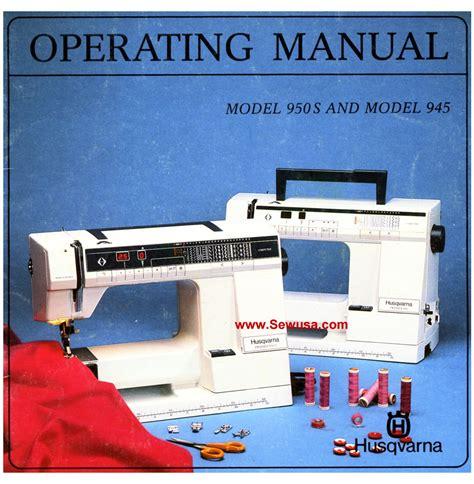 Viking 945 950s Instruction Manual