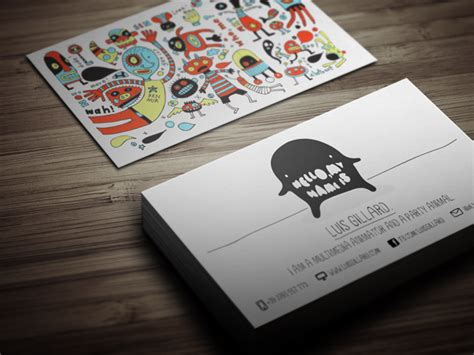 Cool Cards Template by Cool And Creative Business Card Template Cardrabbit
