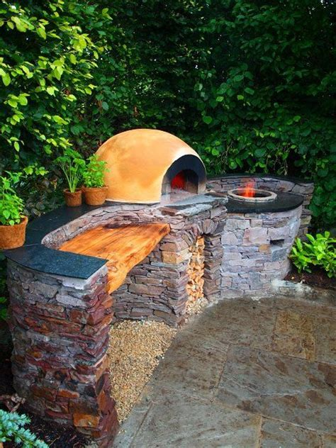 backyard tandoor oven tandoor oven garden swings furniture outdoor kitchen pinterest