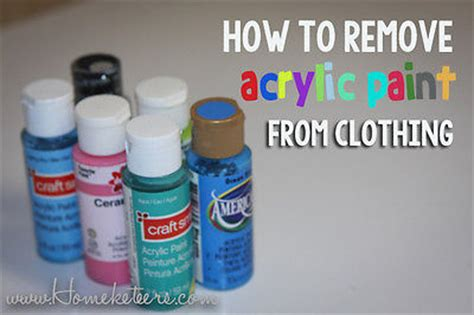 how to clean acrylic paint on canvas removing acrylic paint from clothing ebay
