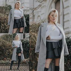 Estera Skirt estera matras mango biker jacket boho belt deezee shoes b w lover lookbook