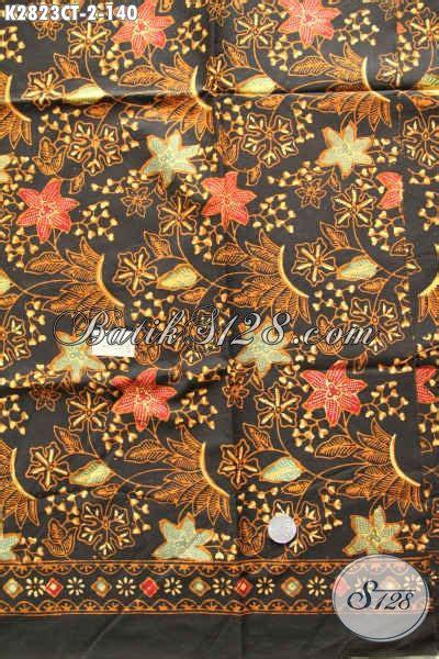 Batik Batik Jawa Tengah kain batik klasik elegan motif bunga batik jawa tengah cap tulis harga 140k untuk pakaian