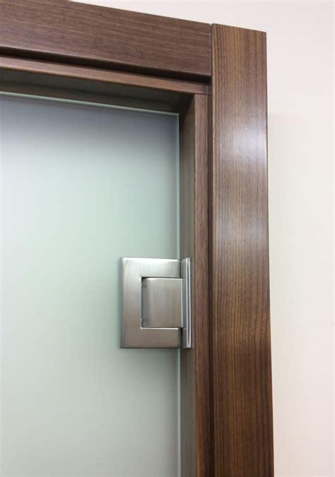 frameless glass door hinges frameless glass single doors opening both ways glaswerk