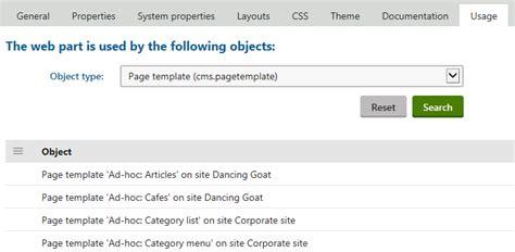 kentico layout web part using and configuring web parts kentico 10 documentation