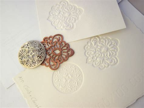 How To Make Embossed Paper - paper embossing christyanne s weblog