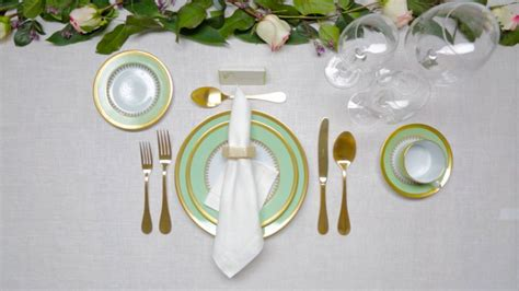 how to set up a dinner table how to set a dinner table architectural digest