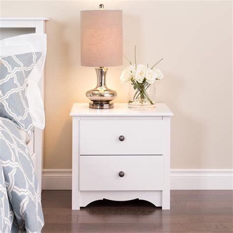 White Nightstand And Dresser by Shop Prepac Furniture White Nightstand At Lowes