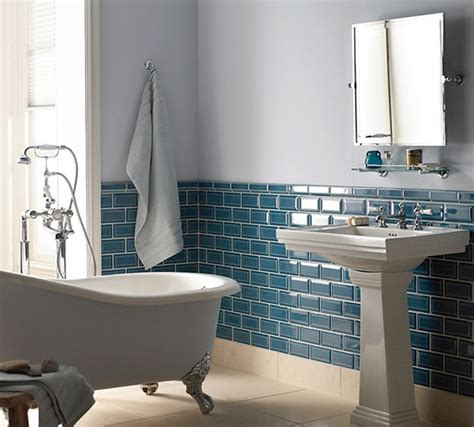 retro blue bathroom 40 retro blue bathroom tile ideas and pictures