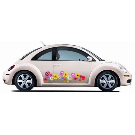 volkswagen beetle flower vw beetle realflowers graphics kit