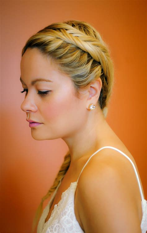 myhclook fishtail braid what would v wear