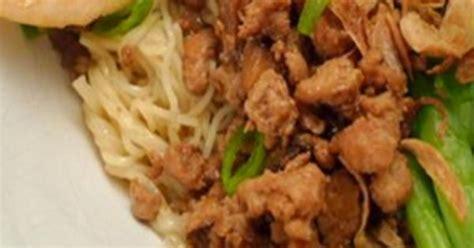 cara membuat mie ayam indonesia resep mie ayam jamur resep cara membuat masakan enak