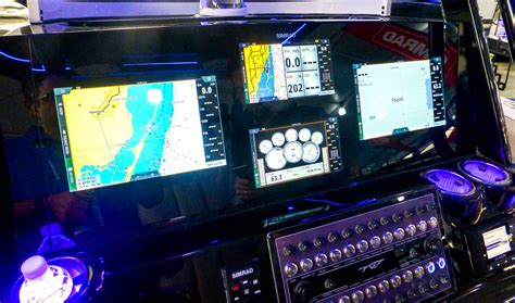 tidewater boats ceo information display and ship control hands on with next