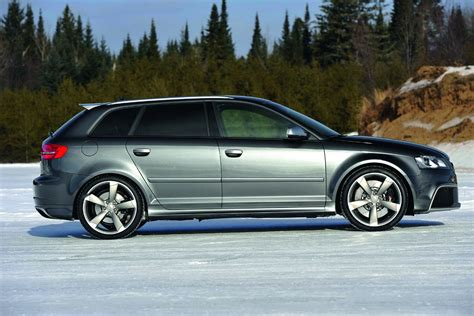 New Audi Rs3 by New Audi Rs3 Sportback Drifts Its Way On The Snow