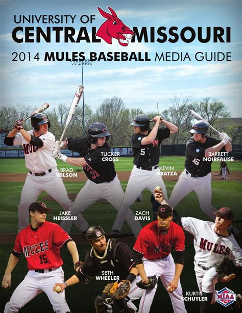 Of Central Missouri Mba Sports by 2014 Central Missouri Mules Baseball Media Guide By Ucm