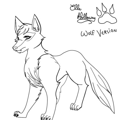 imagenes para dibujar un lobo lobos para colorear