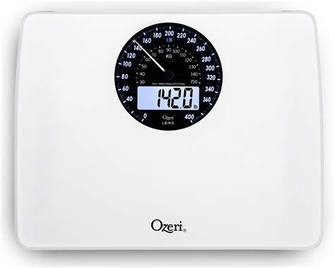 Ozeri Bathroom Scale by Ozeri Rev Digital Bathroom Scale With Electro Mechanical Weight