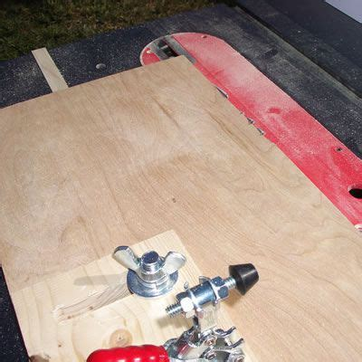 table saw jointer jig plans for building table saw jointer jig