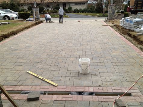 Crescent Dc Installing Paver Driveway How To Install Paver Patio