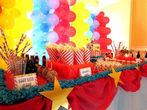 themes carnival carnival themed graduation party ideas party themes
