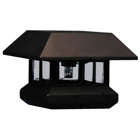 Veranda Solar Light Post Cap The Home Depot Canada Solar Light Post Cap