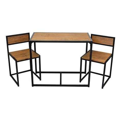 Space Saving Dining Tables Harbour Housewares 2 Person Space Saving Compact Kitchen Dining Table Chairs Set