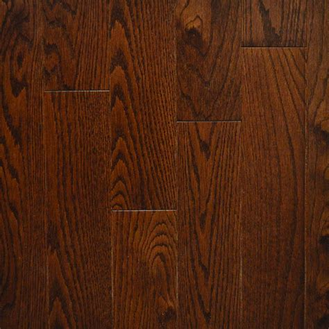 Oak Wood Flooring Quickstyle Walnut Oak Canadian 3 4 In Thick X 3 1 4