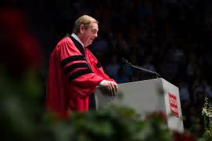 Bu Mba Commencement 2017 Schedule Questrom by Questrom Convocation Bu Today Boston
