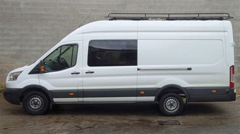 New Ford Transit Roof Rack by Ford Transit 350e Jumbo Roof Racks