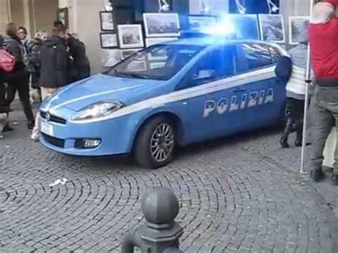 polizia di stato squadra volante fiat bravo squadra volante polizia di stato in emergenza